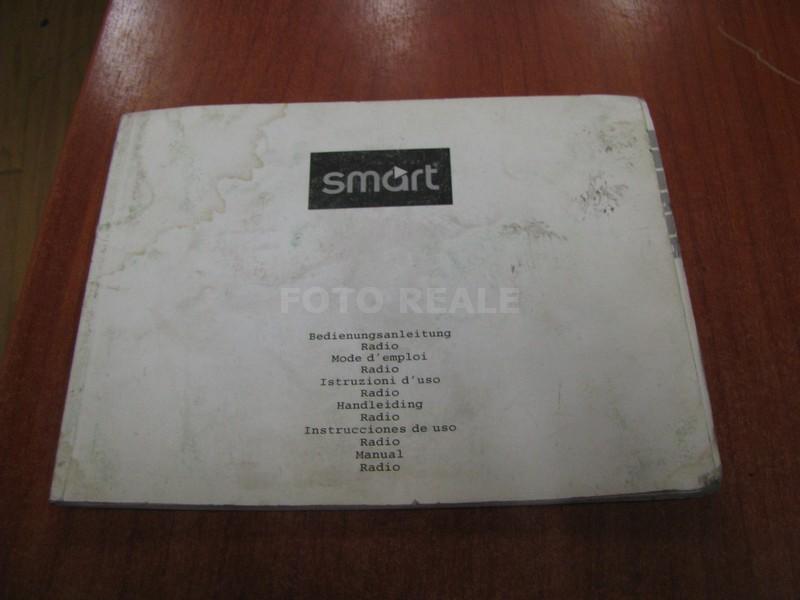 Libretto manuale di uso istruzioni autoradio auto radio smart fortwo grundig cd ebay - Se monto pneumatici diversi dal libretto ...